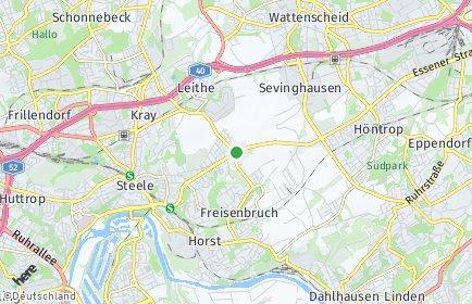 Stadtplan Essen OT Freisenbruch