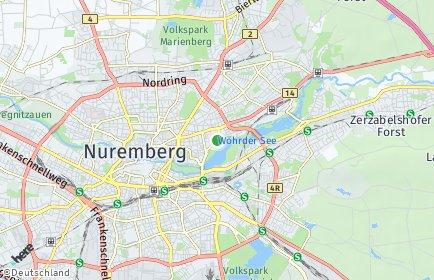 Stadtplan Nürnberg OT Veilhof