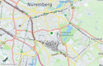 Stadtplan Nürnberg OT Hasenbuck