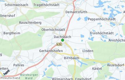 Stadtplan Dachsbach