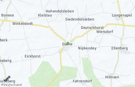 Stadtplan Dähre