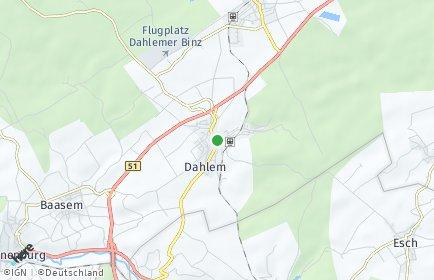 Stadtplan Dahlem (Nordeifel)