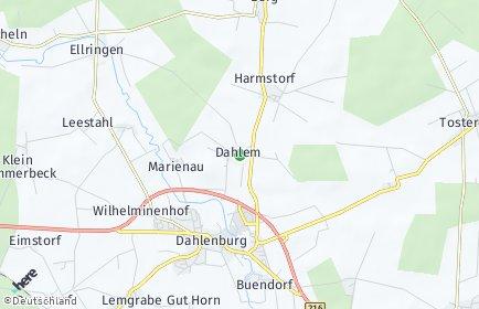 Stadtplan Dahlem (Niedersachsen)