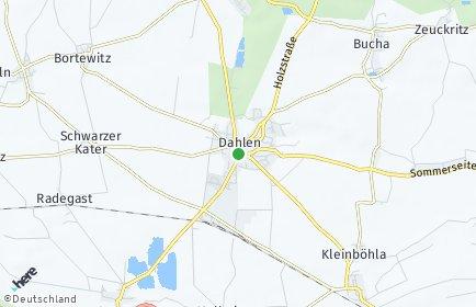 Stadtplan Dahlen