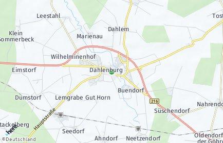 Stadtplan Dahlenburg