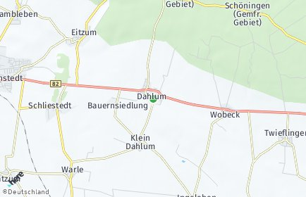Stadtplan Dahlum