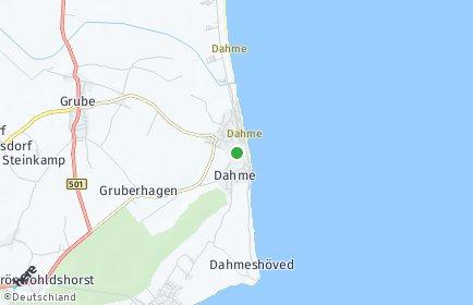 Stadtplan Dahme (Holstein) OT Dahmeshöved