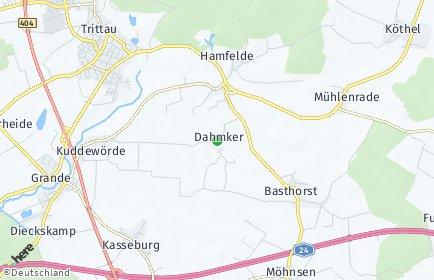 Stadtplan Dahmker
