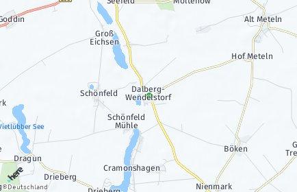 Stadtplan Dalberg-Wendelstorf