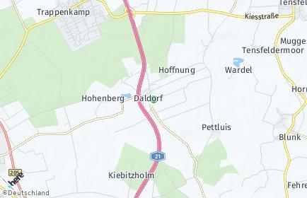 Stadtplan Daldorf