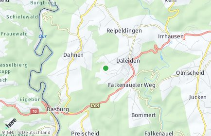 Stadtplan Daleiden