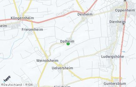 Stadtplan Dalheim