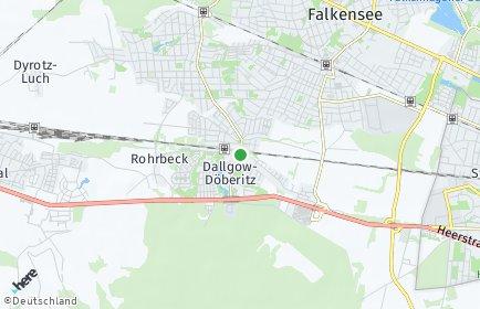 Stadtplan Dallgow-Döberitz