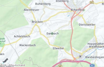 Stadtplan Dambach