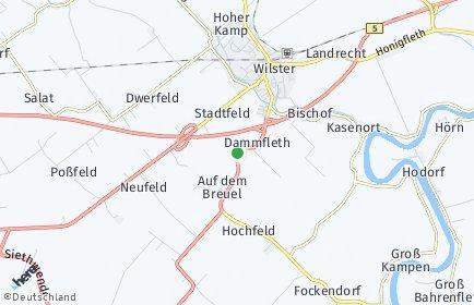 Stadtplan Dammfleth