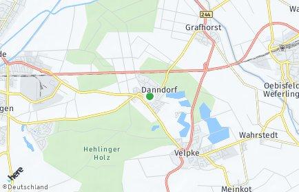 Stadtplan Danndorf
