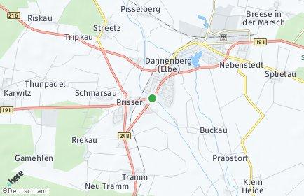 Stadtplan Dannenberg (Elbe)