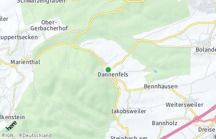 Stadtplan Dannenfels