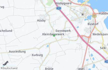 Stadtplan Dannewerk