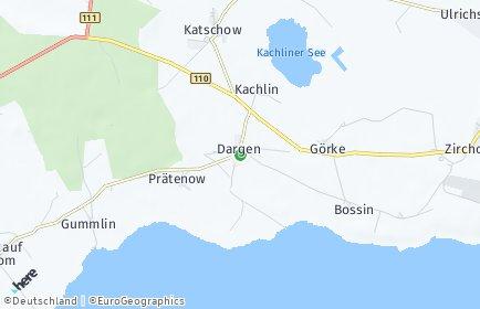 Stadtplan Dargen