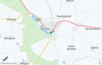 Stadtplan Dargun