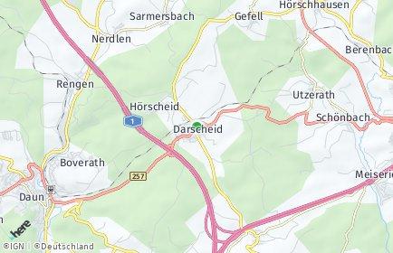 Stadtplan Darscheid