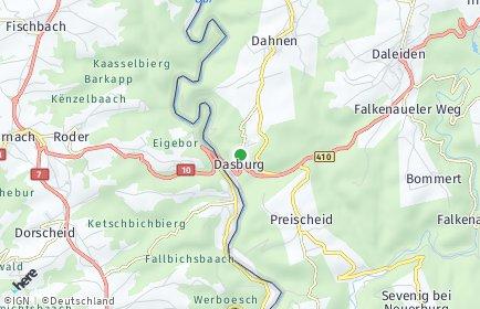 Stadtplan Dasburg