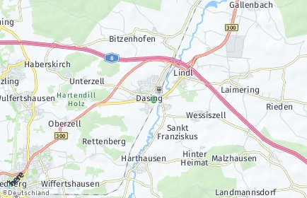 Stadtplan Dasing