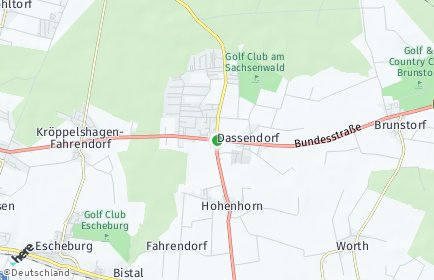 Stadtplan Dassendorf