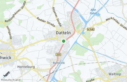 Stadtplan Datteln