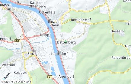 Stadtplan Dattenberg