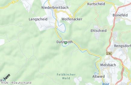 Stadtplan Datzeroth