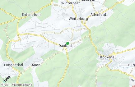 Stadtplan Daubach (Hunsrück)