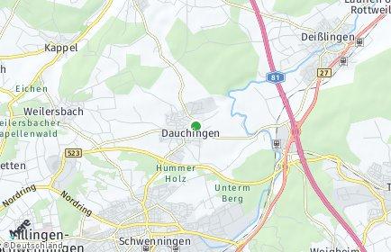 Stadtplan Dauchingen