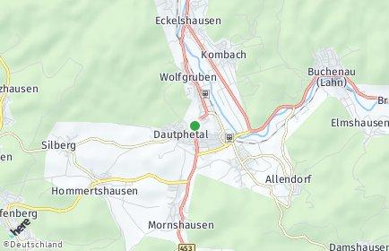 Stadtplan Dautphetal