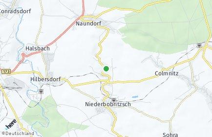 Stadtplan Bobritzsch-Hilbersdorf