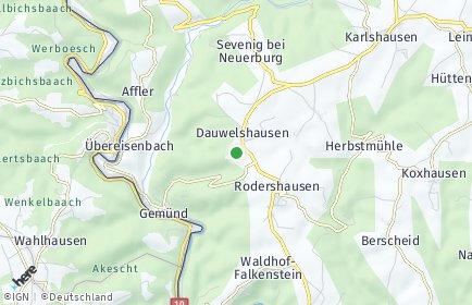 Stadtplan Dauwelshausen