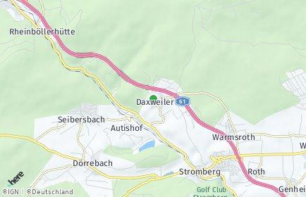 Stadtplan Daxweiler