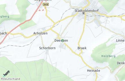 Stadtplan Deensen