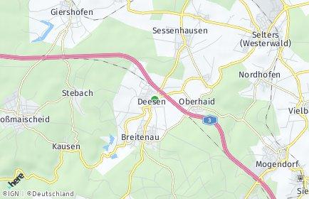 Stadtplan Deesen