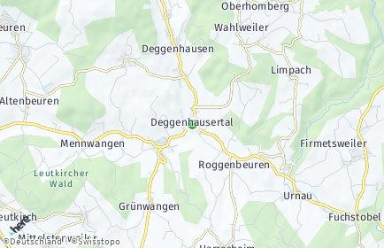 Stadtplan Deggenhausertal