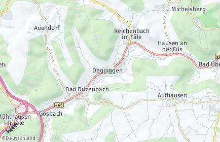 Stadtplan Deggingen