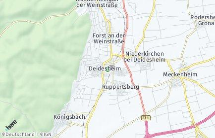 Stadtplan Deidesheim