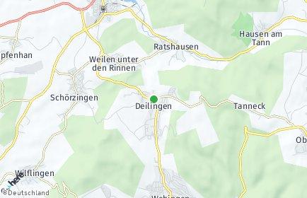 Stadtplan Deilingen
