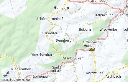 Stadtplan Deimberg