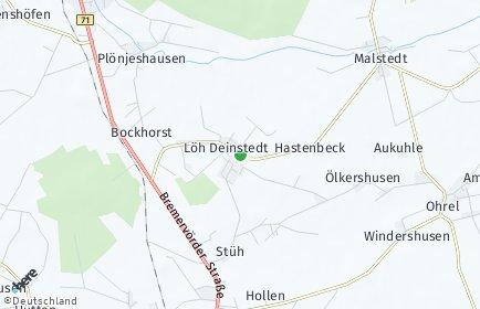 Stadtplan Deinstedt