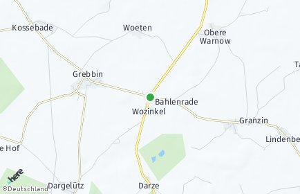 Stadtplan Obere Warnow