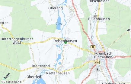 Stadtplan Deisenhausen
