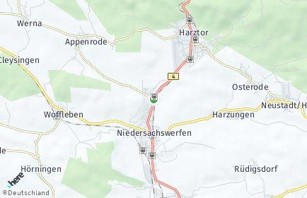 Stadtplan Harztor