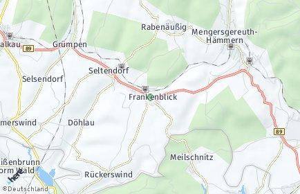 Stadtplan Frankenblick